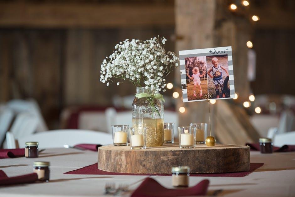 Svatební dekorace DIY